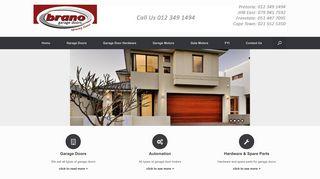 Brano Garage Doors Pretoria