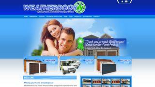 Weatherdoor