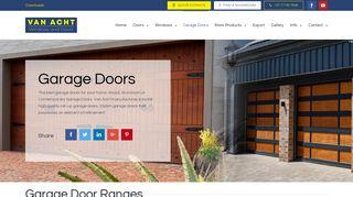 Van Acht Garage Doors