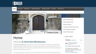 K Carrim Doors