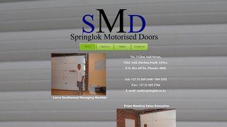 Springlok Motorised Doors