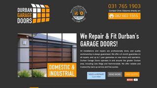 Garage Doors Durban