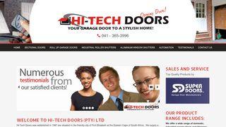 Hi-Tech Doors