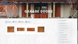NP Wood Garage Doors