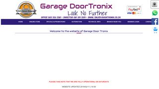Garage DoorTronix