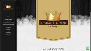 Garage Door King