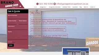 Brano Garage Doors