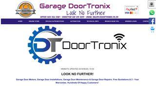 Garage DoorTronix