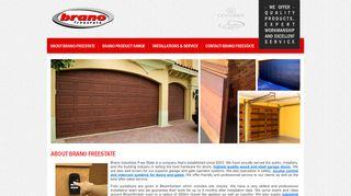 Brano Garage Doors Bloemfontein