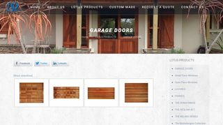 NP Wood Garage Doors