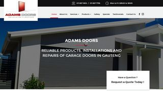 Adams Garage Doors