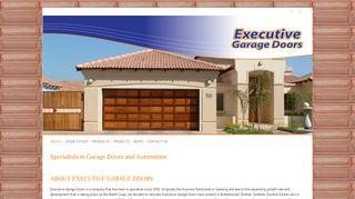 Executive Garage Doors